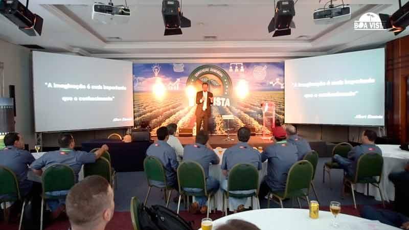 Representantes da Boa Vista prestigiaram a palestra com Daniel Bizon