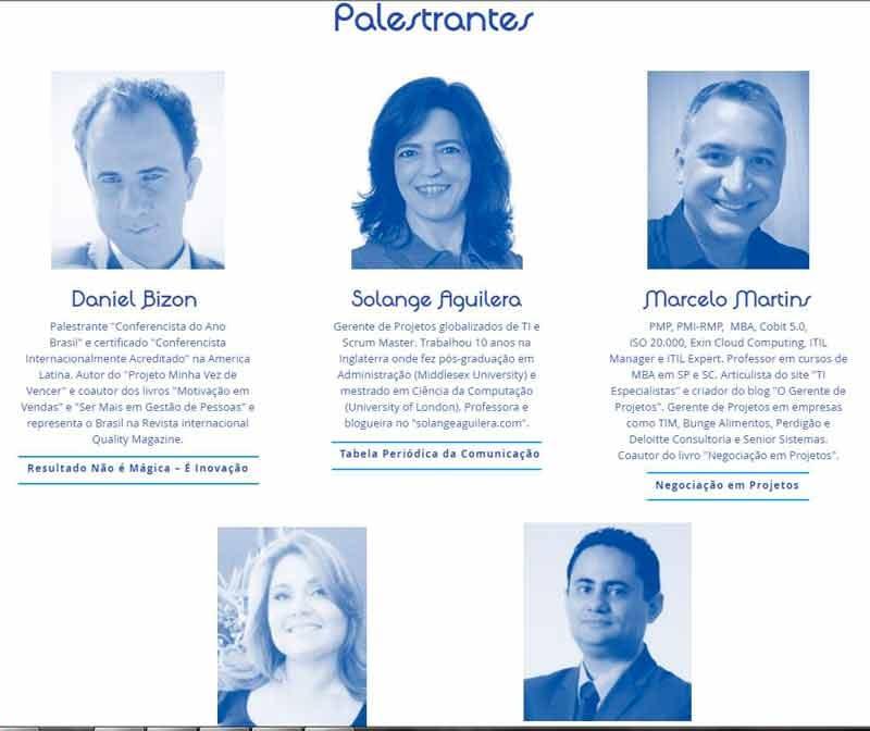 Palestrante Daniel Bizon é uma das atrações do Congresso de Gerenciamento de Projetos em Uberlândia