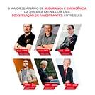 Folder de apresentação dos palestrantes do XV Senabom