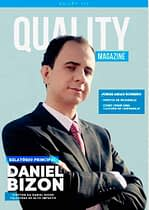 DANIEL BIZON É CAPA DA REVISTA INTERNACIONAL QUALITY MAGAZINE