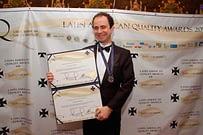 Palestrante Daniel Bizon recebe Prêmio em Buenos Aires