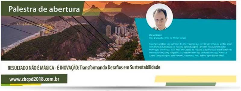 Daniel Bizon fará a palestra de abertura do Congresso Brasileiro da Ciência das Plantas Daninhas