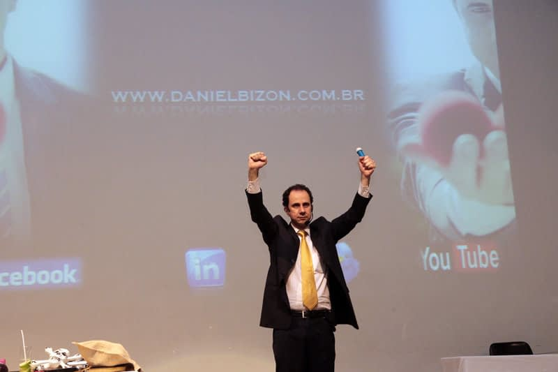 Palestras motivacionais nas Empresas Daniel Bizon